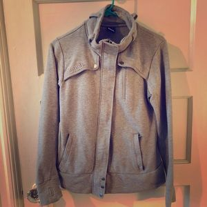 Gray Bench Zip Up Jacket w/ Pockets Size M in EUC